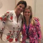 2018 Leadership Retreat, Palm Beach – two members posing for photo