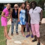 2018 Leadership Retreat, Palm Beach – six members posing for photo