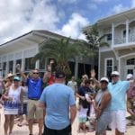 2019 In-state retreat, Key Largo – DAY three – overview of event standing with excitement
