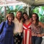 2018 Leadership Retreat, Palm Beach – four members posing for photo