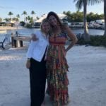 2019 In-state retreat, Key Largo – two members posing for photo on beach