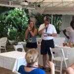 2018 Leadership Retreat, Palm Beach – members enjoying activity – judging of Mixology